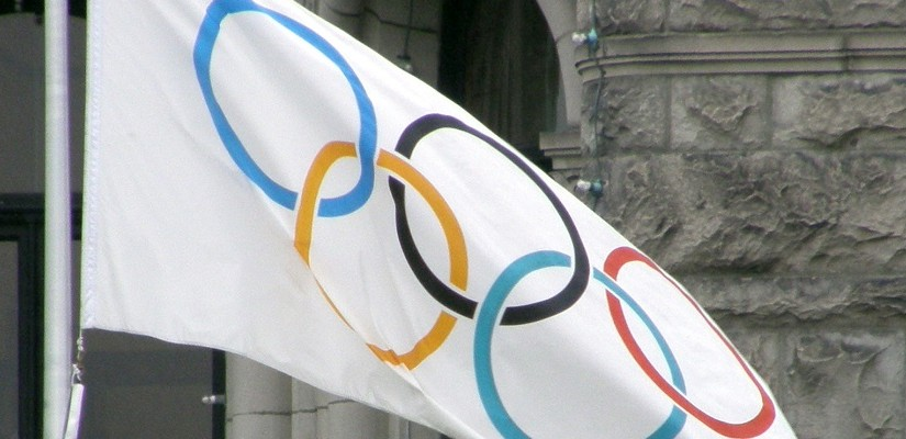 Olympic Flag (Public Domain)