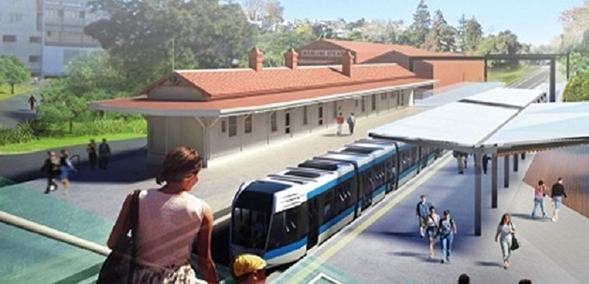 Parnell Station artists impression - Photo Auckland Transport