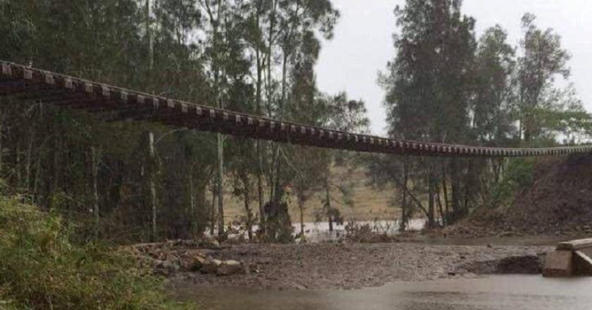 Tocal washaway - Photo NSW SES