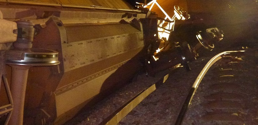 Whyalla Derailment - Photo: ATSB