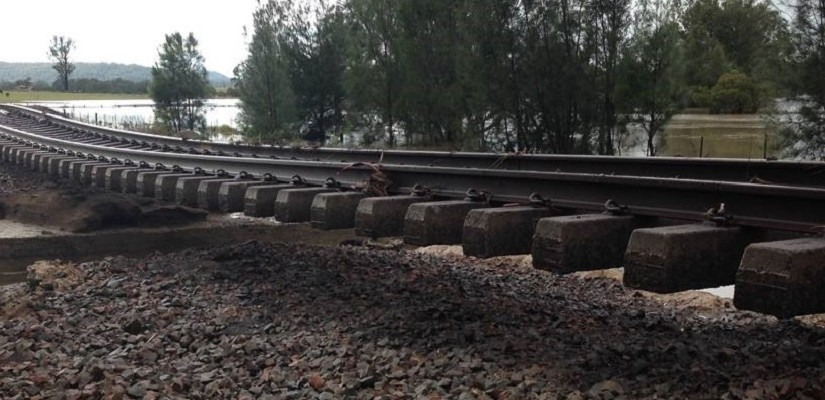 rail damage - Transport NSW