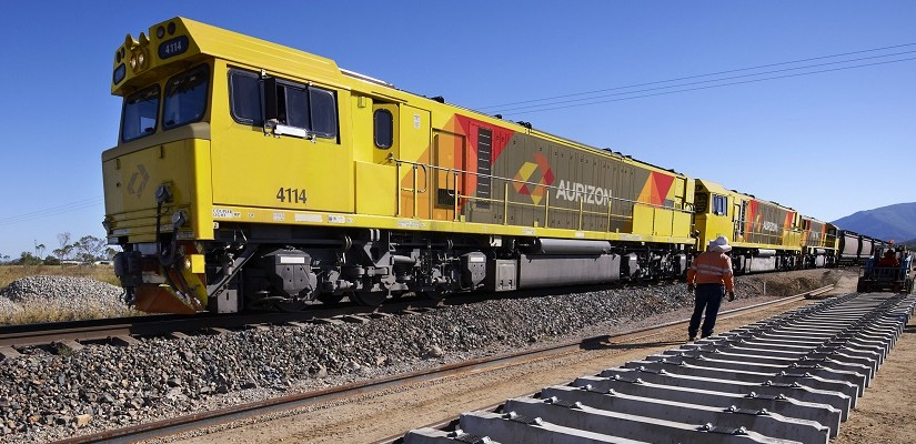 Aurizon train on Queensland Rain Network. Photo: Aurizon