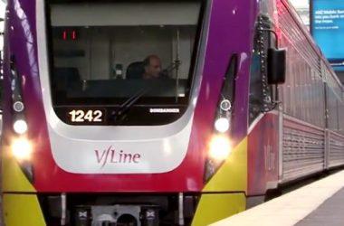 V/Line train. Photo: Victorian Government