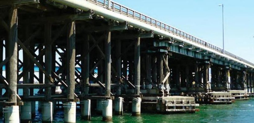 Fremantle Rail Bridge. Photo: WA PTA