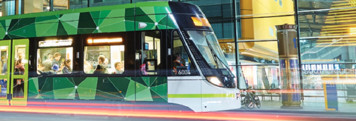Melbourne tram. Photo State Government Victoria