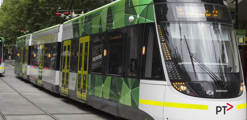E-Class Melbourne tram. Photo: Liam Davies