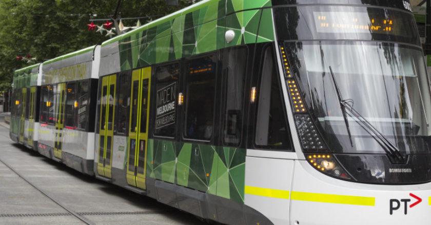 E-Class Melbourne tram. Photo: Liam Davies