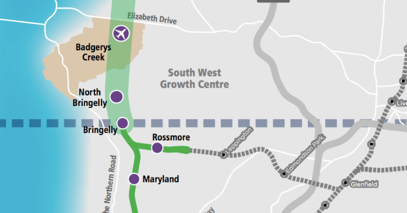 SWRL extension. Graphic: Transport for NSW