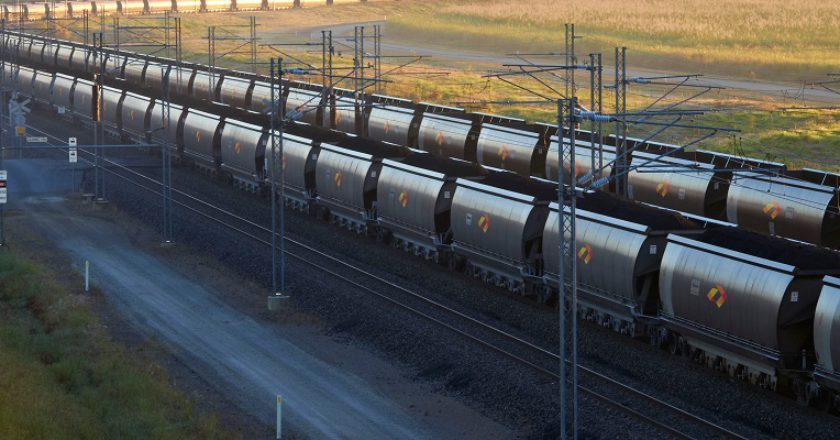 Aurizon coal wagons. Photo: Aurizon
