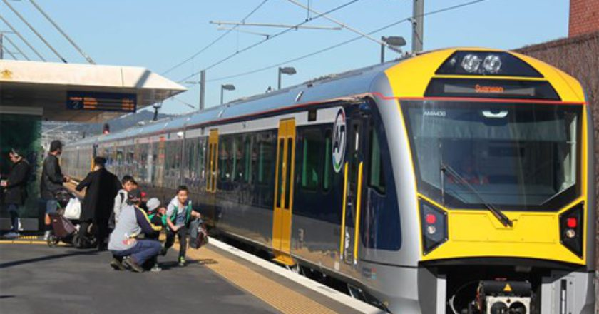 CAF AM class train Auckland. - Photo: Auckland Transport
