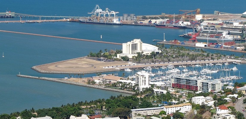 Port of Townsville. Photo: Chris Mackey