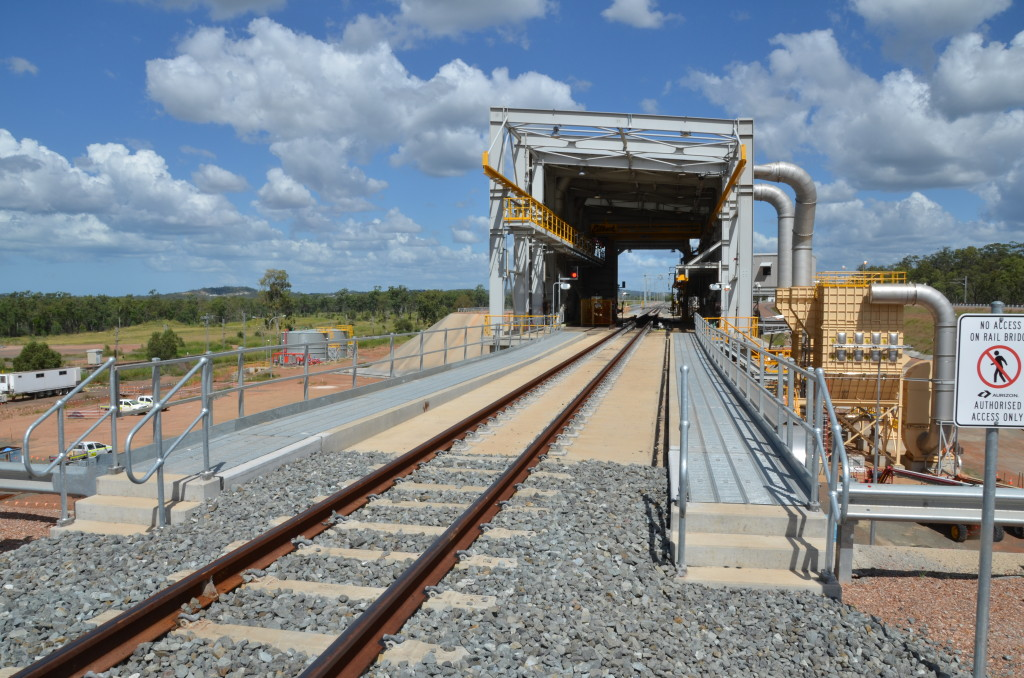 WICET rail unloading facility. Photo: WICET