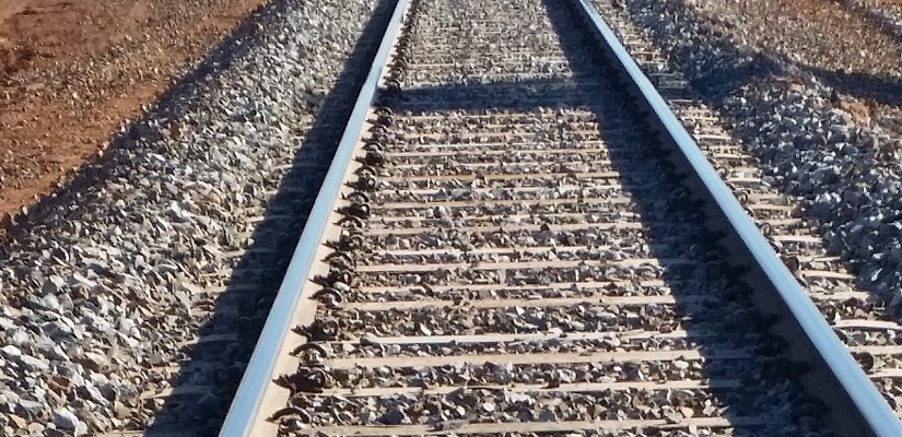 Resleepered track on WA's Leonora Branch Line. Photo: Brookfield Rail