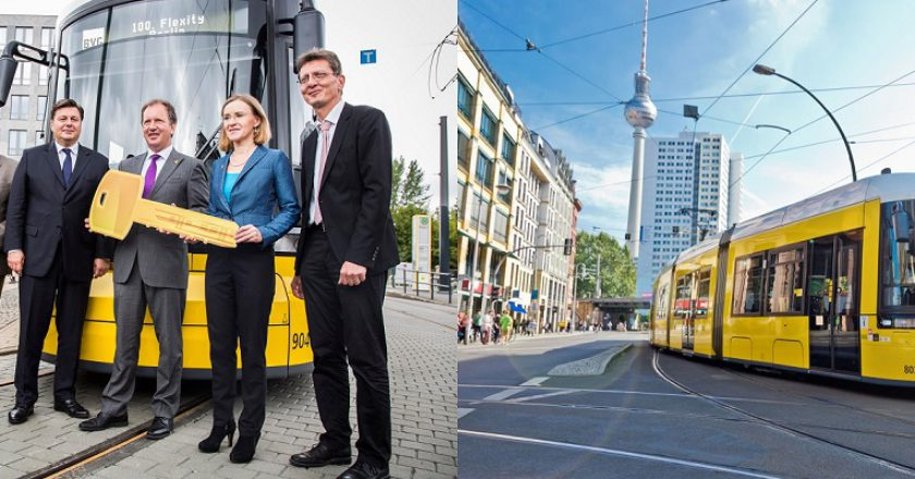 100th Flexity for Berlin. Photo: Bombardier Transport