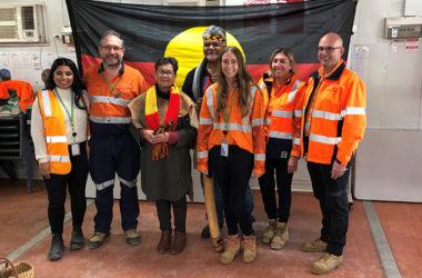 Perth Metro staff celebrate National Reconciliation Week.