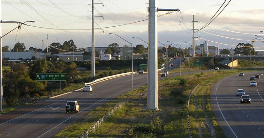 Roe Highway upgrade - Perth Freight Link. Photo: Creative Commons