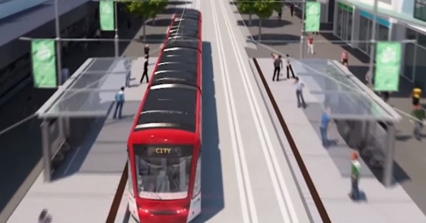 Canberra light rail. Graphic: ACT Government
