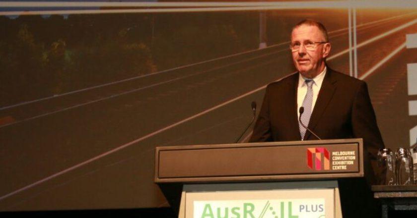 Australasian Railway Association chief executive Danny Broad. Photo: RailGallery.com.au