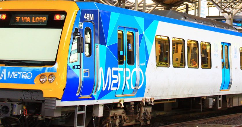 Metro train. Photo: RailGallery.com.au