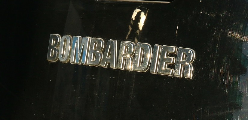 Bombardier logo on tram. Photo: RailGallery.com.au