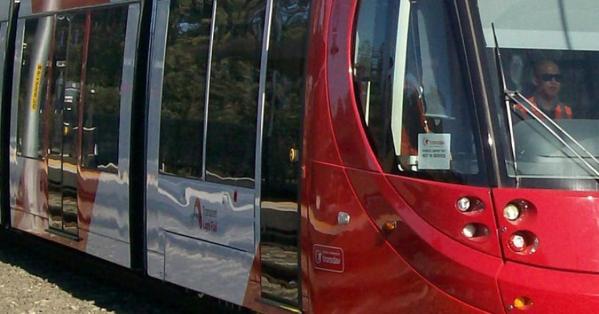 Inner West Light Rail, CAF rollingstock. Photo: Creative Commons / Abesty