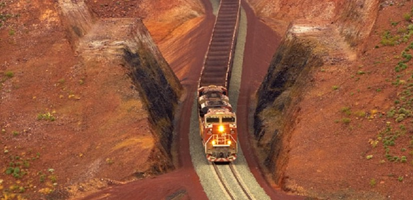 BHP sets sights on South Flank deposit - Rail Express