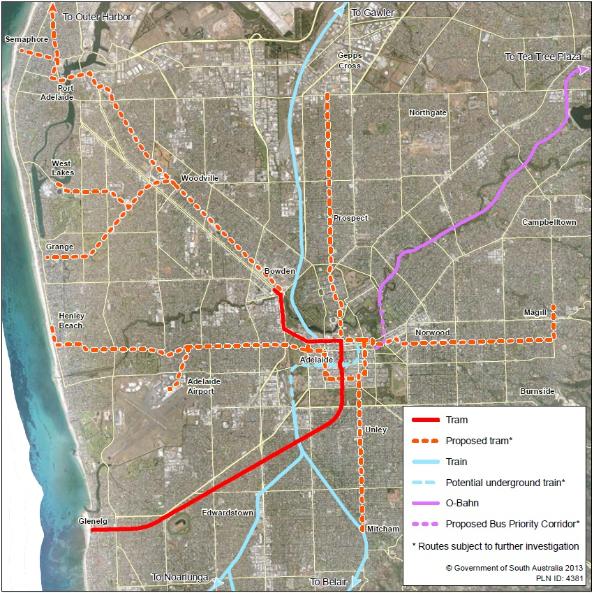 50m to extend Adelaide tram line Rail Express