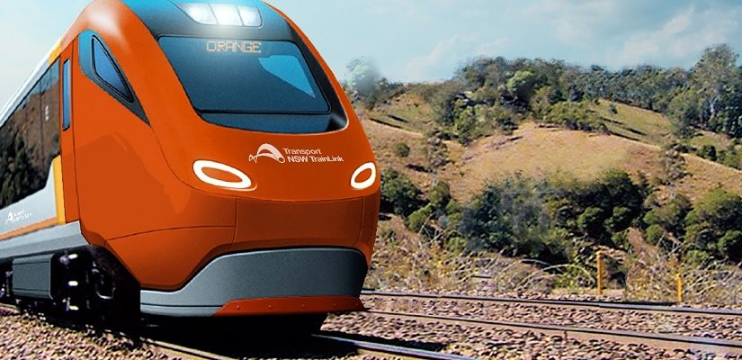 Replacement XPT. Artist's Impression: Transport for NSW