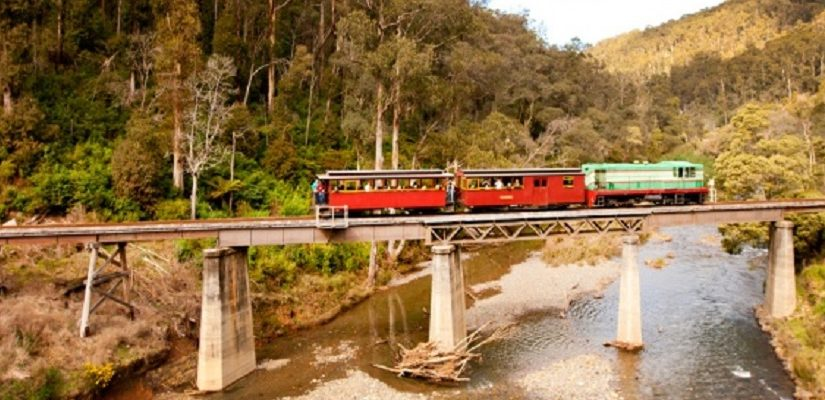 Photo: Walhalla Goldfields Railway