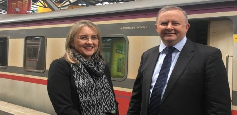 Anthony Albanese and Jacinta Allan/Twitter