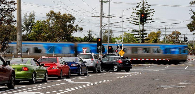 Seaford Road level crossing. Photo: Level Crossing Removal Authority