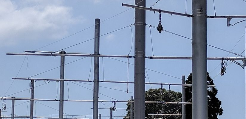 Light rail wires installed In Randwick and Moore Park - Rail ... on
