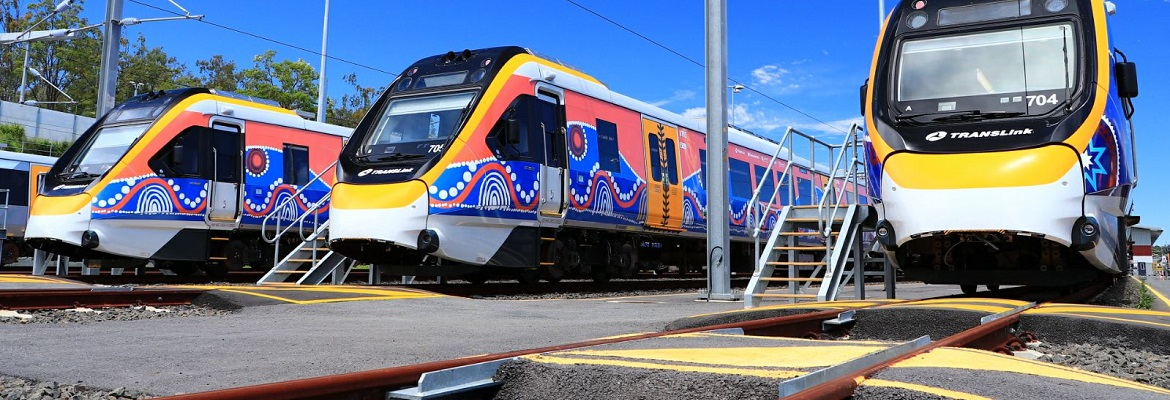 NGR trains ready to go. Photo: Bombardier Transportation