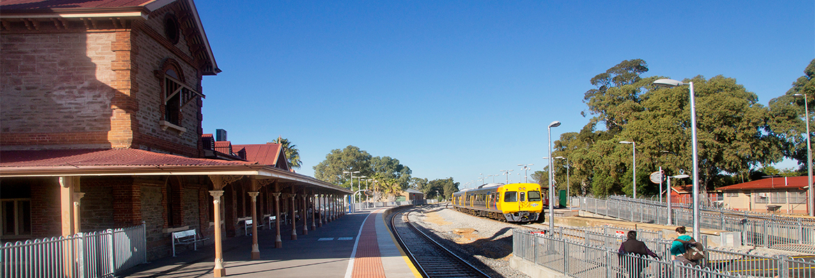 Gawler station. Photo: SA Government