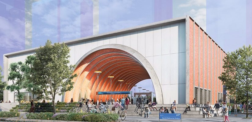 Melbourne Metro station concept. Graphic: Rail Projects Victoria