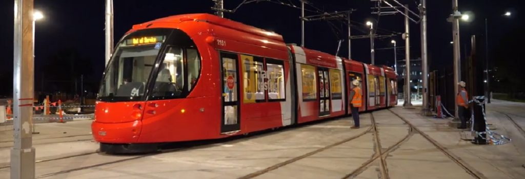First night tests completed for Newcastle light rail ...