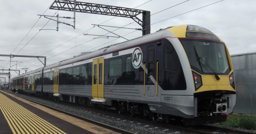 KiwiRail Auckland Metro network