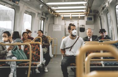 face masks public transport