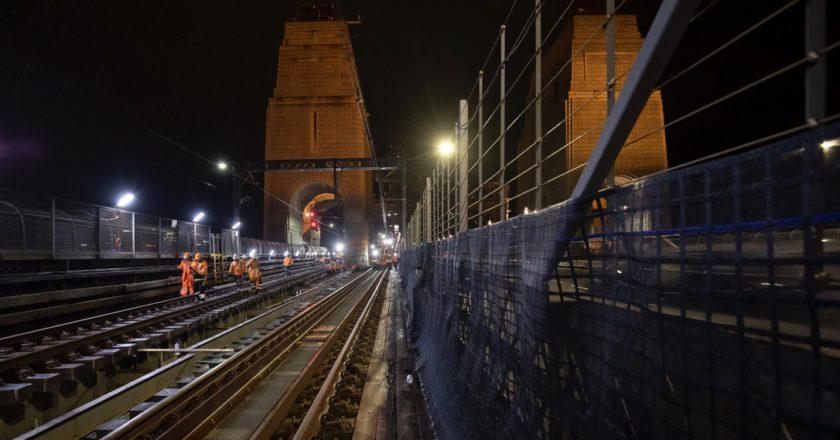 Sydney Harbour Bridge deck